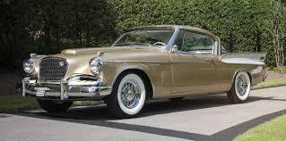 A Golden Golden Hawk 1957 Studebaker Sells For 99 000 In