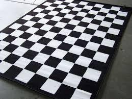 barrett a mroczka barrettamroczka on with regard to black and white checd rug