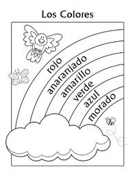 Small Picture Spanish Thanksgiving Vocabulary Coloring Pages Spanish Spanish