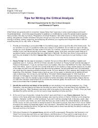 critical response essay format image gallery of to literature   examples day critical response essay format 5 samuelsonenglish 1302 andall sophomore english classes tips for writing the