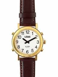 mens talking watches archives blindsight delaware multi button leather wrist watch