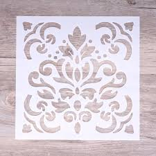 Wall Painting Paper Design Us 1 19 15 Cm Diy Craft Layering Stencils For Walls Painting Scrapbooking Stamping Stamps Album Decorative Embossing Paper Cards In Cutting Dies