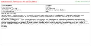 good cover letter for sales representative aploon cover letter s representative samples sample medical representative cover letter