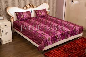 jaipur fabric s rajasthani gold print double bed sheet set jaipur fabric rajasthani gold print double bed sheet set
