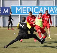 Fatih Karagümrük Maçının Hazırlıkları Sürüyor - Demir Grup Sivasspor Kulübü  Resmi İnternet Sitesi