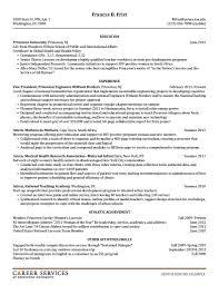 Resume Example 4 Resume Cv