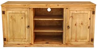 rustic pine tv stand. Modren Stand Roma Mexican Rustic Pine TV Stand In Tv O