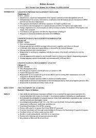 Management Resume Experience Certificate Format Logistics Copy Logistics Management 98