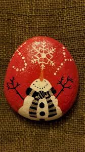 Simple Christmas Designs To Paint 52 Simple Rock Paint Concepts For Kindness Rocks Task