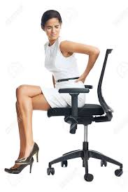 back pain chairs. Businesswoman With Lower Back Pain From Sitting On Office Chair Stock Photo - 35066898 Chairs A