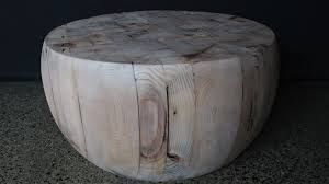 round butcher s block coffee table the timber