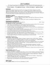Resume Writing Software Engineer Sidemcicek Com