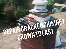 repair ed chimney crown add top sheet metal flashing cap flue guru you