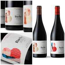 The Label Design Of Buches Wine Range Reflects The Winerys