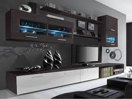 Wenge Living Room Furniture Delta Living Room Set High Gloss Entertainment Package Wall