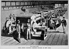 first electric generator. Perfect Electric Drawing Of Pearl St Dynamo Room Inside First Electric Generator C