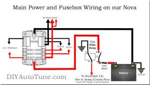 73 nova fuse box wiring diagrams image details 72 Nova Wiring Diagram 73 nova fuse box wiring diagrams