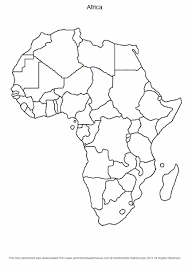 africablankmap africa map worksheet termolak on quadratic word problems worksheet answers