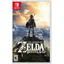 <b>The Legend of Zelda</b>: Breath of the Wild Standard Edition Nintendo ...
