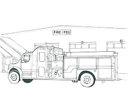 Free Fire Truck Coloring Pages To Print Fire Truck Coloring