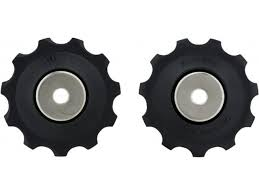 Shimano 9-/10-speed Derailleur Pulleys - <b>1 Pair</b> - <b>bike</b>-components
