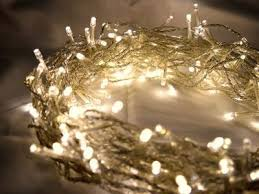 400 warm white led multifunction fairy lights 40m on clear cable battery operated indoor