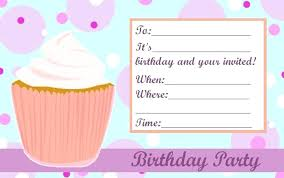 Birthday Invitation Templates Girl Invitation Templates Free