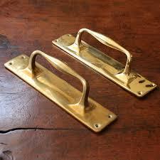 antique brass door handles. Antique Solid Brass Door Pull Handles