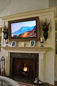 fireplace mantel decor with tv image collections norahbent 2018