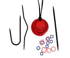 Вязальные магнитные ожерелья KnitPro Cherry <b>Berry</b>. Арт.35016 ...