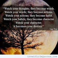 Lao Tzu Quotes Life Lao Tzu Quotes Life Beauteous Lao Tzu Quote On Watching What You Do 42