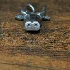 VINTAGE JAMES AVERY Bull Head Charm or Pendant RETIRED VERY RARE - $250.00    PicClick