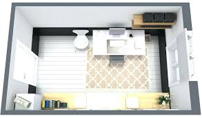 home office furniture layout. Contemporary Home Home Office Furniture Layout Design Floor Plan And  U