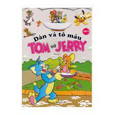 Dán Và Tô Màu Tom Và Jerry - Tập 5 | nhanvan.vn – Siêu Thị Sách & Tiện Ích  Nhân Văn