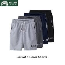 Plus Size <b>2019 Summer Casual</b> Shorts Men Fashion 4 Color ...
