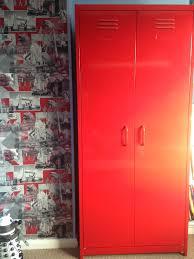 Next Boys Bedroom Furniture Red Locker Wardrobe From Nextcouk Boys Bedroom Pinterest