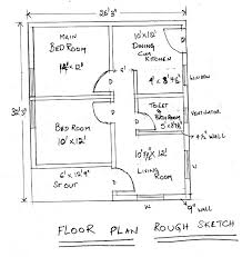 floor plan of a house with dimensions. Creating Floor Plan Tutorial In AutoCAD \u2013 Part One Walls - For Beginners Of A House With Dimensions