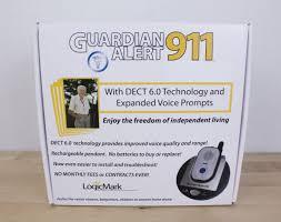 guardian alert 911 logicmark model 30511 emergency protection for seniors