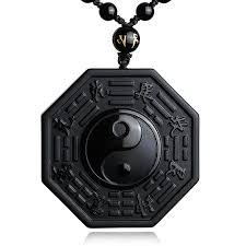yang duality energy protection necklace