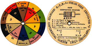 The resistor color code might seem a bit confusing and rather inconvenient at first, but most electronics hobbyists and technicians are surprised when they realize how quickly they've memorized the color chart without the use of mnemonics or other silly shortcuts. Wheel Charts For Antique Radios Electronics And Technology