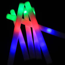 Glow Light Toys Us 0 24 33 Off Luminous Led Glow Light Stick Foam Wand Concert Performance Party Prop Toy Led Light Glowing Toys For Kids Adult Birthday Gifts On