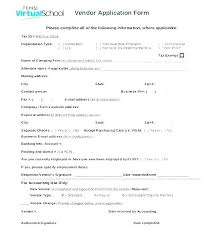 Cake Order Form Template Free Download New Vendor Application