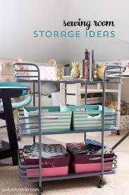 Cute & Clever Sewing Room Organization Ideas & HomeGoods Giveaway