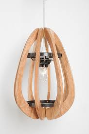 Shop Wooden Pendant Lampshade at Urban Outfitters today.