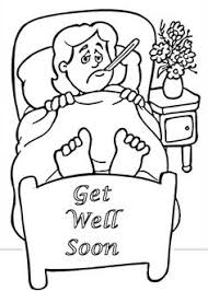 Top 25 Free Printable Get Well Soon Coloring Pages Online Worn Out