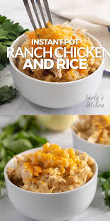 Instant Pot Ranch Chicken and Rice [Video] | Recipe [Video] | Instant pot  dinner recipes, Best pressure cooker recipes, Instant pot recipes chicken