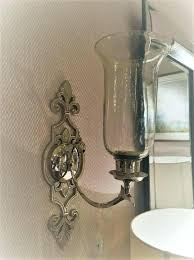 sconces candle holder wall sconce wall sconce candle silver ornate wall sconce candle holder wall