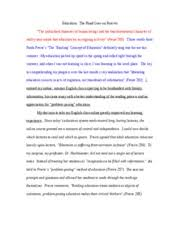 engl essay dear mr baldwin i thoroughly enjoyed reading  6 pages engl1301 essay final