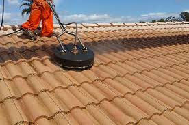 high pressure roof cleaning in brisbane