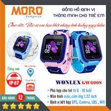 Đồng hồ định vị trẻ em thông minh WONLEX GW600S - Camera, Wifi - Chống nước  IP67 - CHÍNH HÃNG